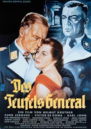 Teufels General, Des - German Movie Poster (thumbnail)