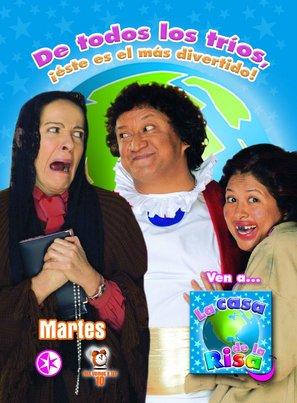 """""""La casa de la risa"""" - Mexican Movie Poster (thumbnail)"""