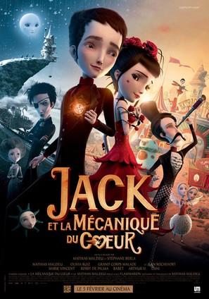 Jack et la mécanique du coeur - French Movie Poster (thumbnail)