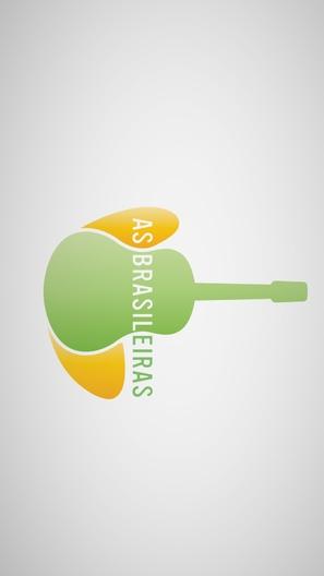 """""""As Brasileiras"""" - Brazilian Logo (thumbnail)"""