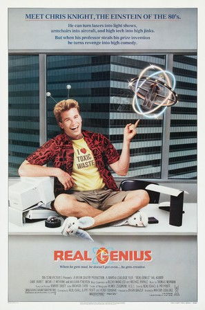 Real Genius - Theatrical movie poster (thumbnail)