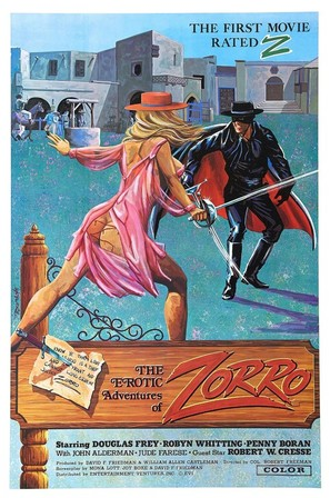 The Erotic Adventures of Zorro - Movie Poster (thumbnail)