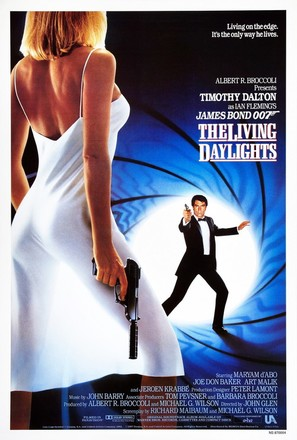 The Living Daylights - Movie Poster (thumbnail)