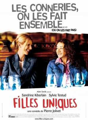Filles uniques - French Movie Poster (thumbnail)