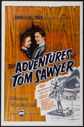 The Adventures of Tom Sawyer - Movie Poster (thumbnail)