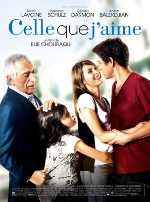 Celle que j'aime - French Movie Poster (thumbnail)