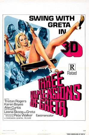 Four Dimensions of Greta - Movie Poster (thumbnail)