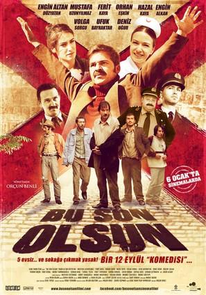Bu son olsun - Turkish Movie Poster (thumbnail)