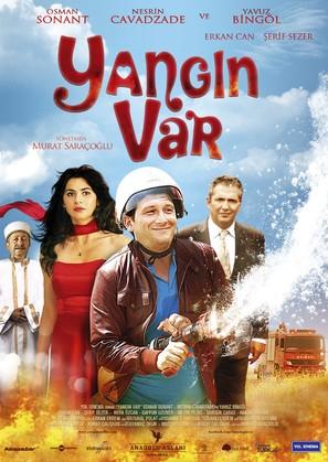 Yangin Var - Turkish Movie Poster (thumbnail)