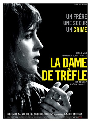 La dame de trèfle - French Movie Poster (thumbnail)