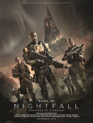 """Halo: Nightfall"" - Movie Poster (thumbnail)"