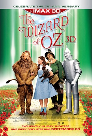 The Wizard of Oz - Re-release movie poster (thumbnail)