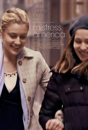 Mistress America - Movie Poster (thumbnail)