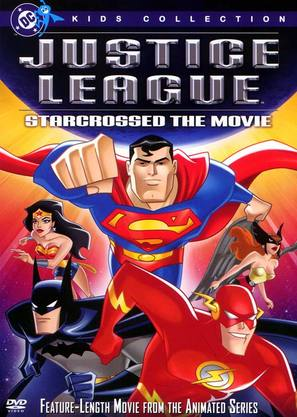 """Justice League"" - DVD cover (thumbnail)"