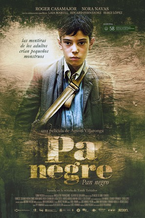 Pa negre - Spanish Movie Poster (thumbnail)