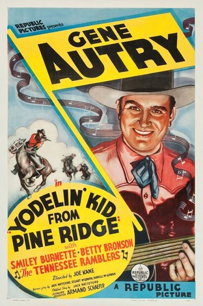 Yodelin' Kid from Pine Ridge - Movie Poster (thumbnail)