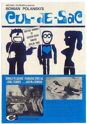 Cul-de-sac - British Movie Poster (thumbnail)