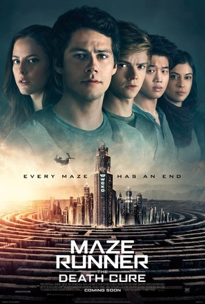 Maze Runner: The Death Cure - Movie Poster (thumbnail)