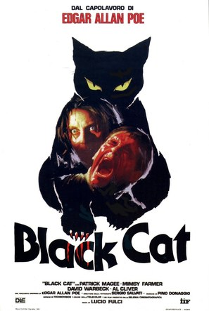 The Black Cat - Italian Movie Poster (thumbnail)
