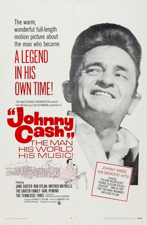 Johnny Cash! The Man, His World, His Music - Movie Poster (thumbnail)