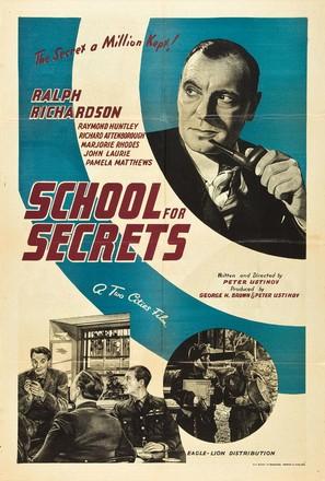 School for Secrets - British Movie Poster (thumbnail)