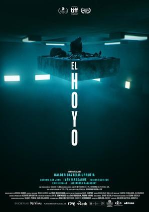 El Hoyo - Spanish Movie Poster (thumbnail)