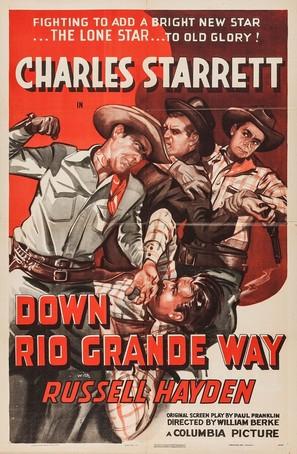 Down Rio Grande Way - Movie Poster (thumbnail)