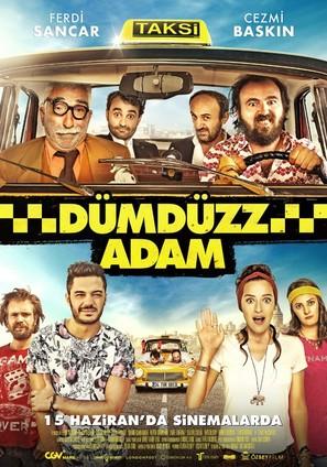 Dümdüzz Adam - Turkish Movie Poster (thumbnail)