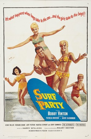 Surf Party - Movie Poster (thumbnail)