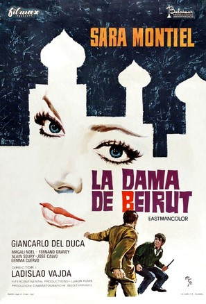 La dama de Beirut - Spanish Movie Poster (thumbnail)