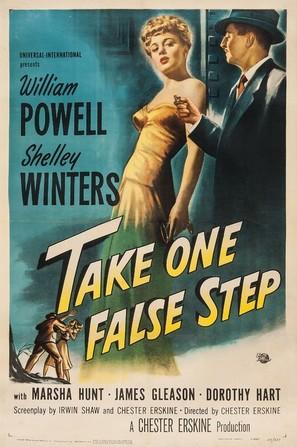 Take One False Step - Movie Poster (thumbnail)