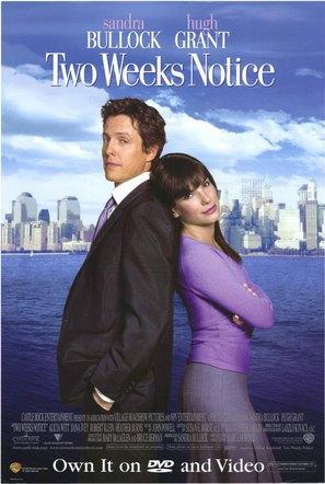 Two Weeks Notice 2002 Movie Posters
