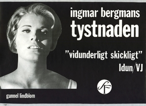 Tystnaden - Swedish Movie Poster (thumbnail)