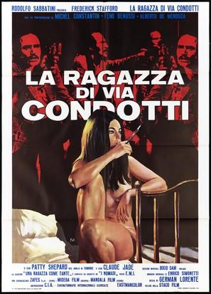 La ragazza di Via Condotti - Italian Movie Poster (thumbnail)
