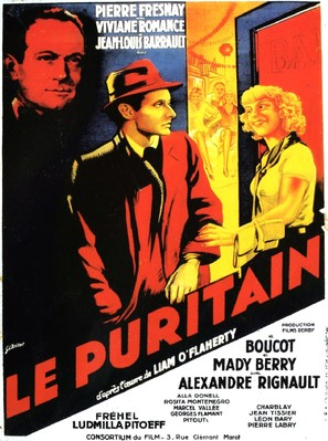 Le puritain - French Movie Poster (thumbnail)