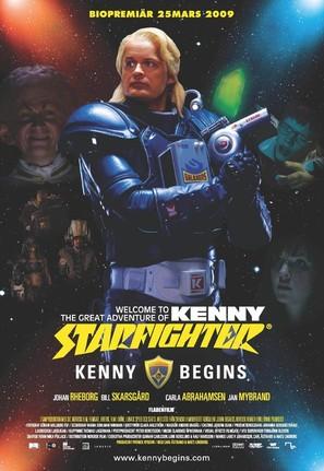 Kenny Begins - Swedish Movie Poster (thumbnail)