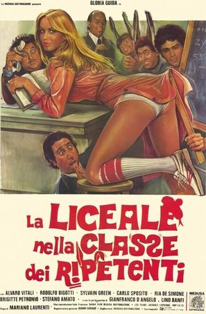 La liceale nella classe dei ripetenti - Italian Theatrical poster (thumbnail)