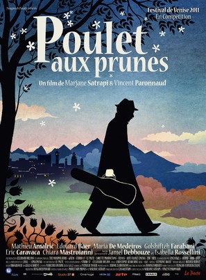 Poulet aux prunes - French Movie Poster (thumbnail)