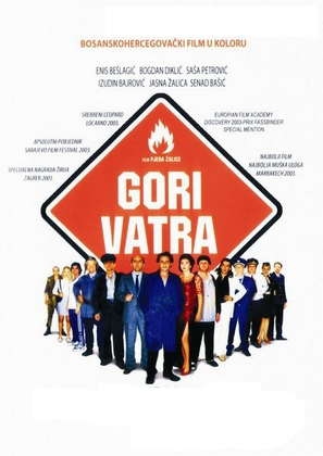 Gori vatra - Bosnian Movie Poster (thumbnail)