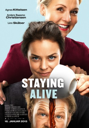 Staying Alive - Norwegian Movie Poster (thumbnail)