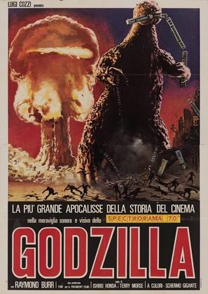 Godzilla - Italian Movie Poster (thumbnail)