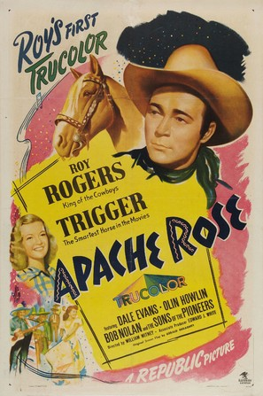 Apache Rose - Movie Poster (thumbnail)