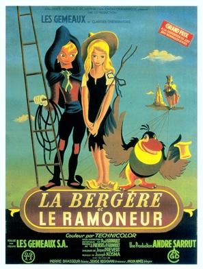 La bergère et le ramoneur - French Movie Poster (thumbnail)