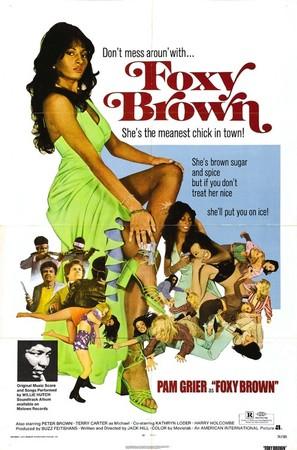 Foxy Brown - Movie Poster (thumbnail)
