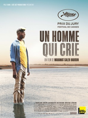 Un homme qui crie - French Movie Poster (thumbnail)