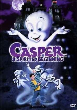 Casper: A Spirited Beginning - DVD movie cover (thumbnail)
