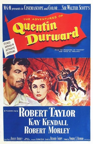 The Adventures of Quentin Durward - Movie Poster (thumbnail)