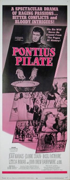 Pontius Pilate - Movie Poster (thumbnail)