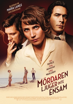 Mördaren ljuger inte ensam - Swedish Movie Poster (thumbnail)
