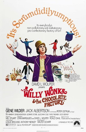 Willy Wonka & the Chocolate Factory - Movie Poster (thumbnail)